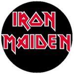 IRON MAIDEN: Logo (jelvény, 2,5 cm)