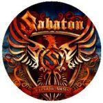 SABATON: Coat Of Arms (jelvény, 2,5 cm)