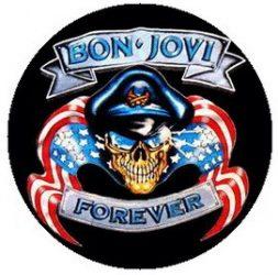 BON JOVI: Forever (jelvény, 2,5 cm)