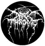 DARKTHRONE: Logo (jelvény, 2,5 cm)