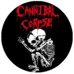 CANNIBAL CORPSE: Baby (jelvény, 2,5 cm)