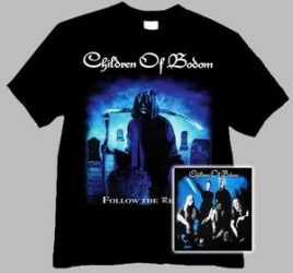 CHILDREN OF BODOM: Follow (póló)
