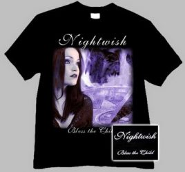 NIGHTWISH: Bless The Child (póló)