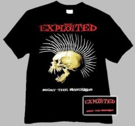 EXPLOITED: Beat The Bastards (póló)