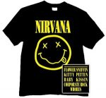NIRVANA: Logo Smiley (póló)