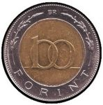 100 Ft (jelvény, 2,5 cm)