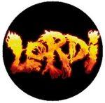 LORDI: Logo (jelvény, 2,5 cm)