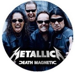 METALLICA: Band Magnetic (jelvény, 2,5 cm)