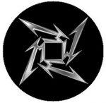 METALLICA: Ninja Logo (jelvény, 2,5 cm)
