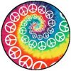 PEACE: Rainbow (jelvény, 2,5 cm)