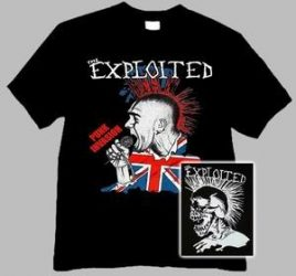 EXPLOITED: Punk Invasion (póló)