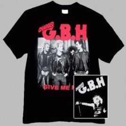 GBH: Band (póló)