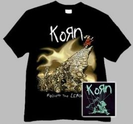 KORN: Follow The Leader (póló)