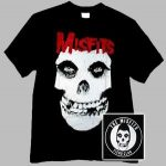 MISFITS: Skull (póló)