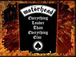 MOTORHEAD: Everything Louder (hátfelvarró / backpatch)