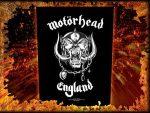 MOTORHEAD: England (hátfelvarró / backpatch)