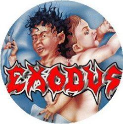 EXODUS: Bonded By Blood (jelvény, 2,5 cm)