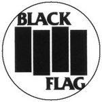 BLACK FLAG: Logo (jelvény, 2,5 cm)