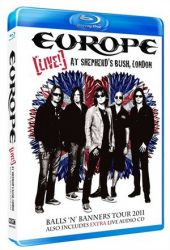 EUROPE: Live At Shepherd's Bush (Blu-ray, 180', kódmentes)