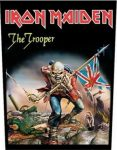 IRON MAIDEN: Trooper  (hátfelvarró / backpatch)