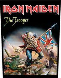 IRON MAIDEN: Trooper  (hátfelvarró / backpatch)