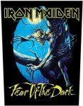 IRON MAIDEN: Fear Of The Dark (hátfelvarró / backpatch)