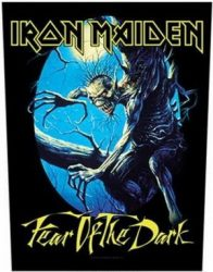 IRON MAIDEN: Fear Of The Dark (hátfelvarró / backpatch)