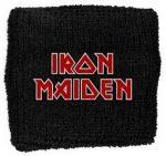 IRON MAIDEN: Logo (frottír csuklószorító)