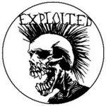 EXPLOITED: Skull (jelvény, 2,5 cm)