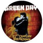GREEN DAY: 21st Century (jelvény, 2,5 cm)