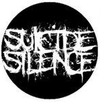 SUICIDE SILENCE: Logo (jelvény, 2,5 cm)
