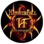 HAMMERFALL: Logo (jelvény, 2,5 cm)