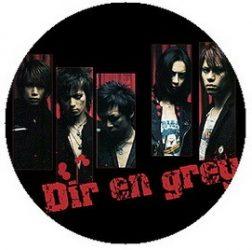 DIR EN GREY: Band (jelvény, 2,5 cm)