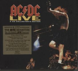 AC/DC: Live (2CD, remastered,16 pgs booklet)
