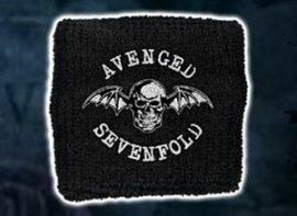 AVENGED SEVENFOLD: Death Bat (frottír csuklószorító)