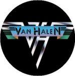 VAN HALEN: Logo (jelvény, 2,5 cm)