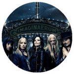 NIGHTWISH: Imaginaerum Band (jelvény, 2,5 cm)