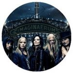 NIGHTWISH: Imaginaerum Band (jelvény, 2,5 cm)