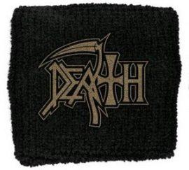 DEATH: Logo (frottír csuklószorító)