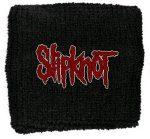 SLIPKNOT: Logo (Name) (frottír csuklószorító)