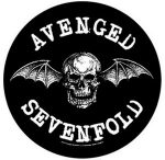 AVENGED SEVENFOLD: Death Bat (hátfelvarró / backpatch)