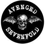 AVENGED SEVENFOLD: Death Bat (hátfelvarró / backpatch)