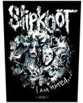 SLIPKNOT: I Am Hated (hátfelvarró / backpatch)