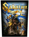 SABATON: Carolus Rex (hátfelvarró / backpatch)