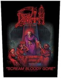 DEATH: Scream Bloody Gore (hátfelvarró / backpatch)