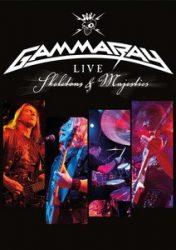 GAMMA RAY: Live Skeletons And Majest. (2DVD, 230', kódmentes)