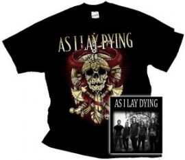 AS I LAY DYING: Skull (póló)