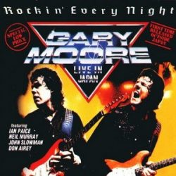 GARY MOORE: Rockin' Every Night (+3 bonus) (CD)