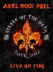 AXEL RUDI PELL: Live On Fire (2DVD+2CD, kódmentes)