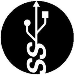 USB (jelvény, 2,5 cm)